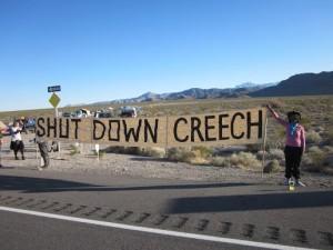 Shut Down Creech March 2015