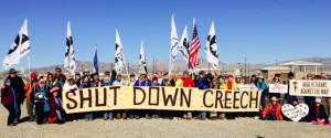 Shut Down Creech group March 2014
