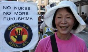 Nuclear protest Kobe