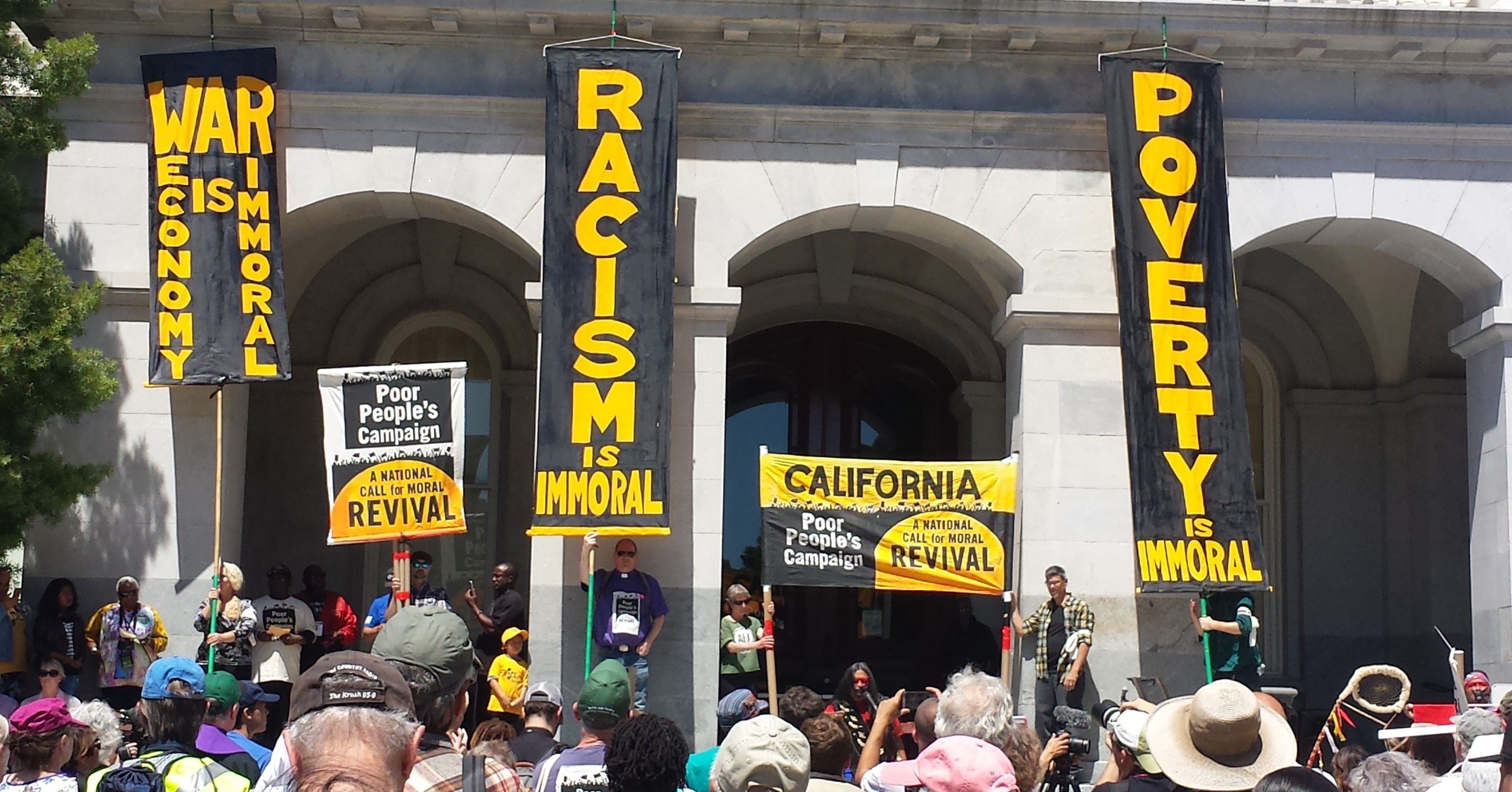 PRC joins the Poor People's Campaign! A report-back on the May 14 kick-off in Sacramento