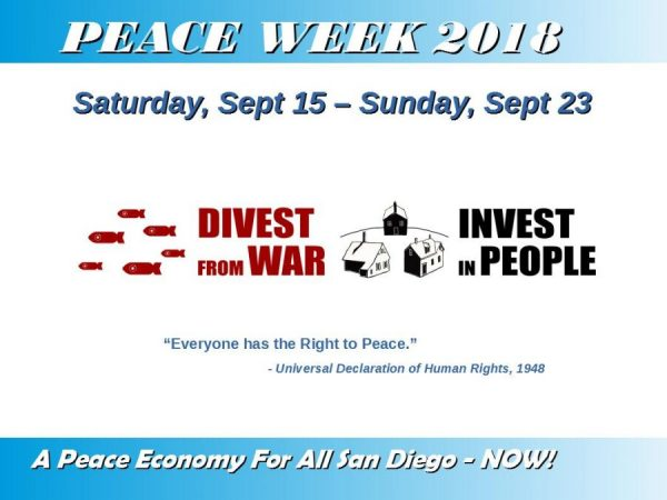 PRC Wages Peace Week 2018