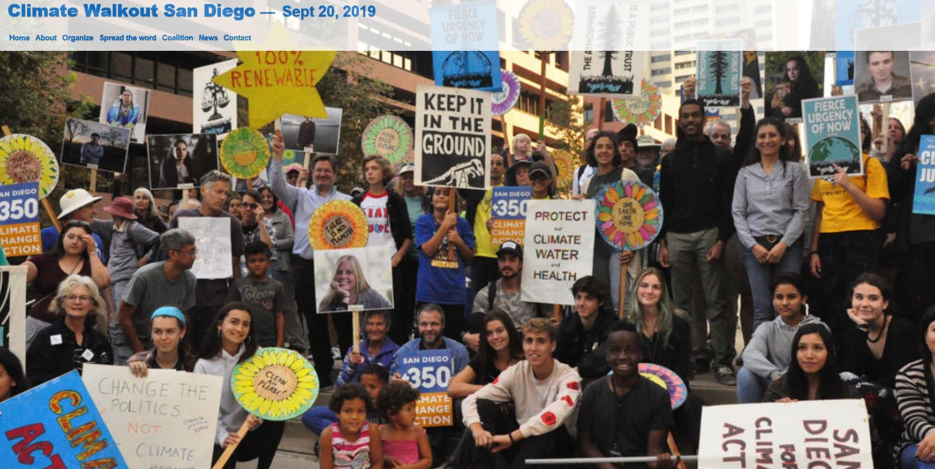 Peace Week & Climate Change in the face of extreme violence